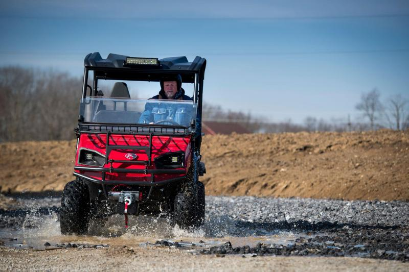 2018 American Land Master LS550 EFI EPS Red Utility Side-by-Side (UTV)