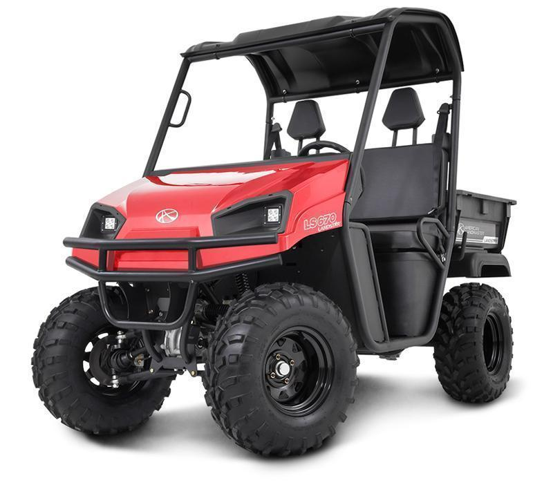 2018 American Land Master LS550 EFI EPS Red Utility Side-by-Side (UTV)