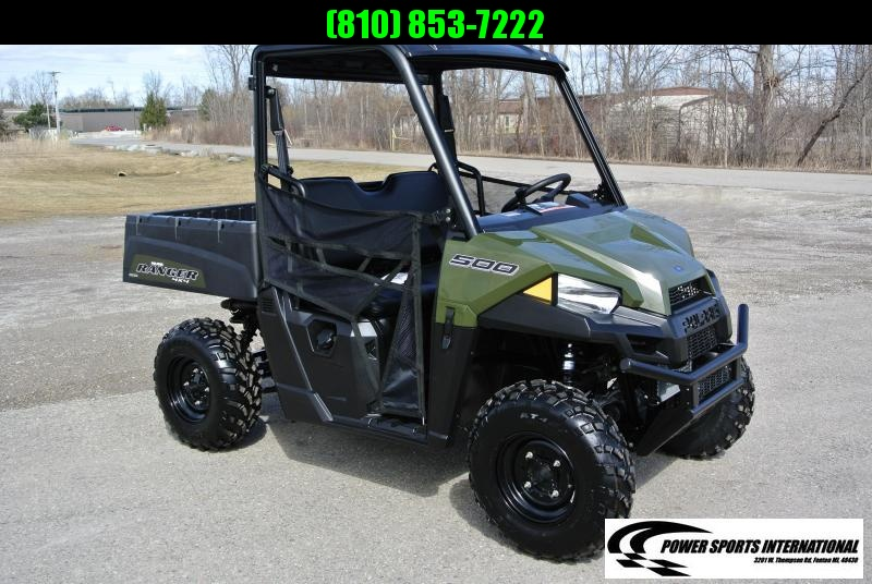 2018 POLARIS RANGER 500 HUNTER GREEN SIDE BY SIDE #7319