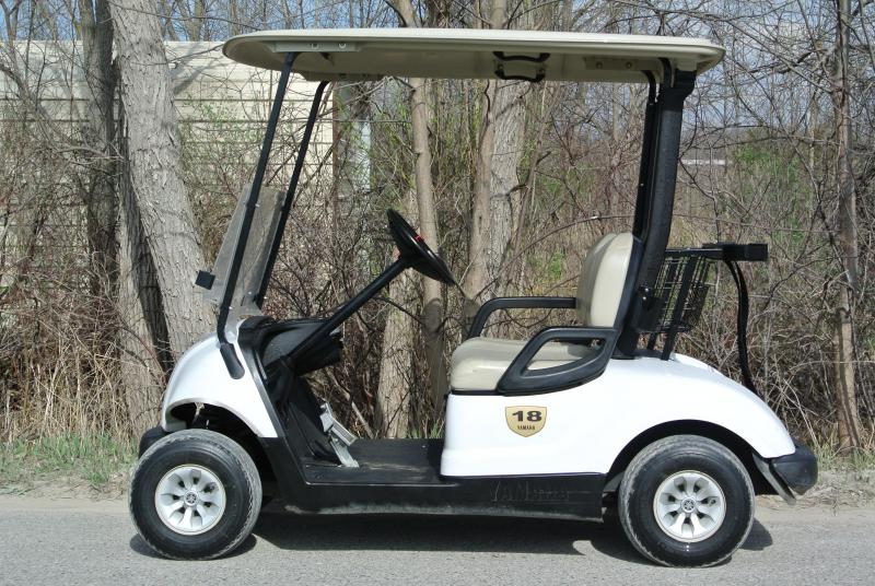 2013 Yamaha Drive 48V Electric Golf Cart w/ Extras #6098