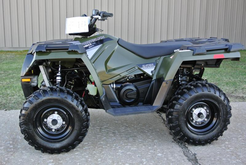 2016 POLARIS SPORTSMAN 450 4X4 ATV Hunter Green #5707