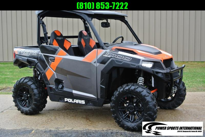 2018 POLARIS GENERAL 1000 EPS DELUXE ORANGE #6641