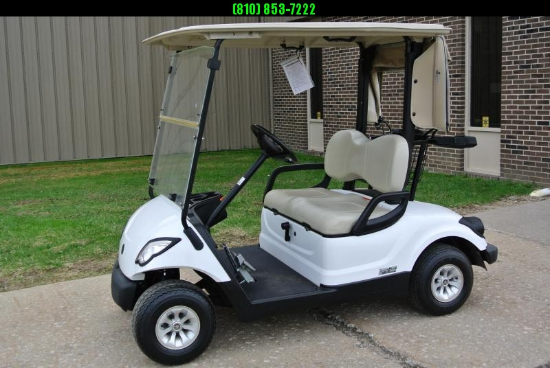 2014 Fuel Injected Yamaha Drive GAS Golf Cart #4676