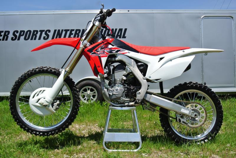 2017 HONDA CRF250RH w/ Factory F4.1 Exhaust #0358