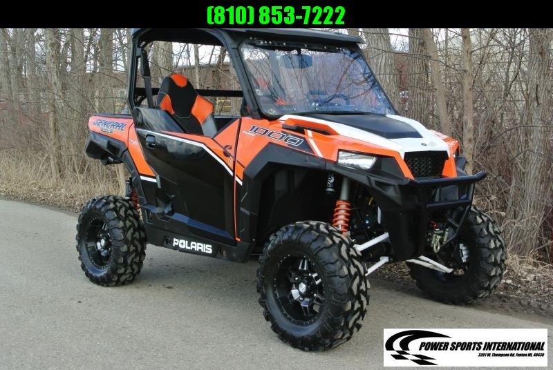 2016 POLARIS GENERAL 1000 EPS DELUXE ORANGE #1636