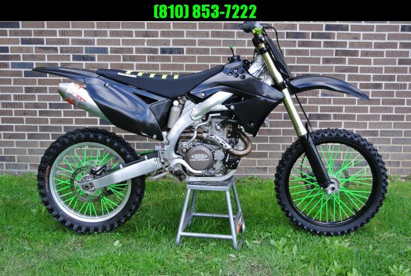 2009 Kawasaki KX450F Motorcycle MX Dirt Bike #0418