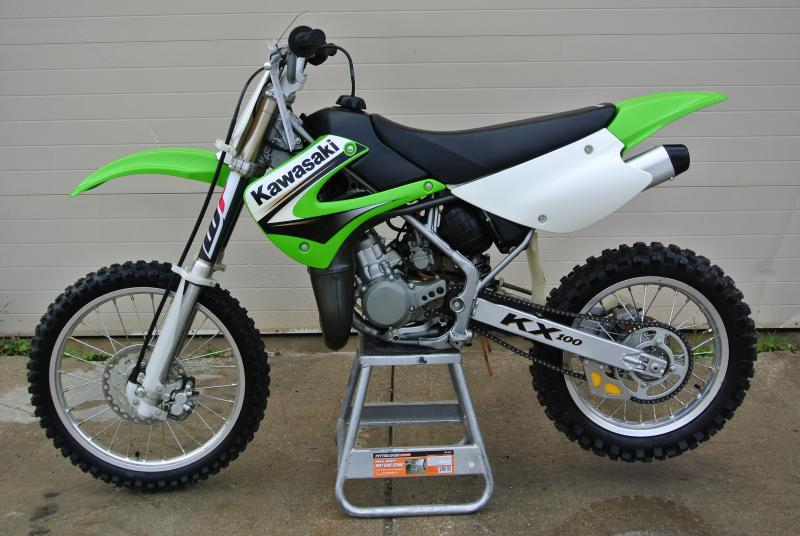 MINT 2003 Kawasaki KX 100 MX Motocross Motorcycle #9065