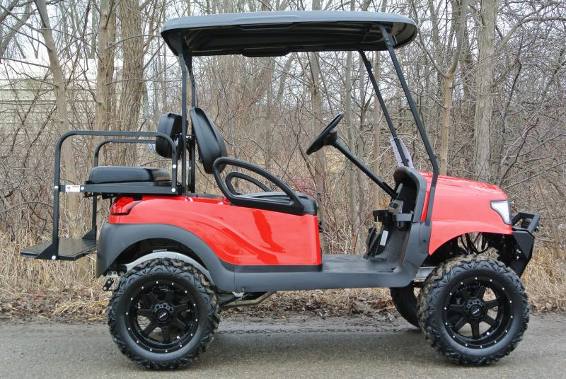 2013 Club Car gas w/ ALPHA body and thousands in extras. #7679