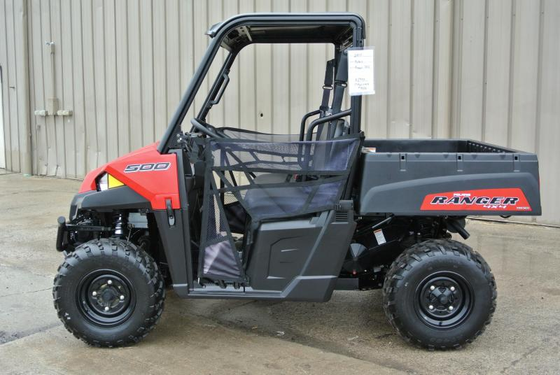 2017 POLARIS RANGER 500 RED SIDE BY SIDE #9006