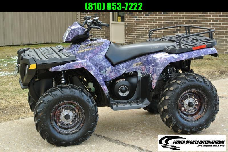 2005 POLARIS SPORTSMAN 500 HO 4X4 ATV #3216