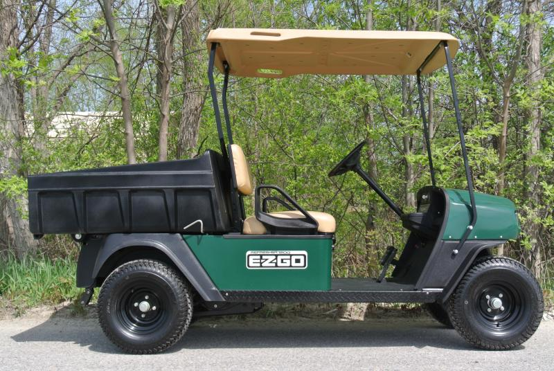 2009 Ez-GO Sport Utility GAS Golf Cart Side by Side Dump Bed #8718