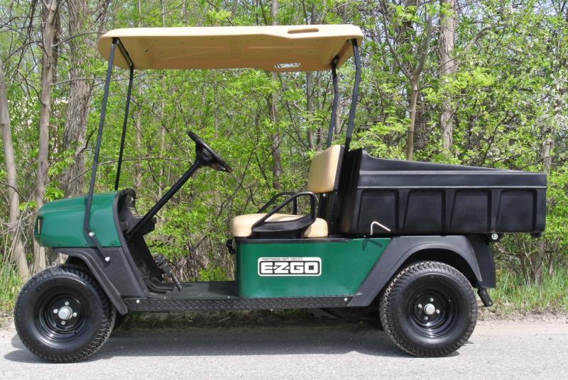 2009 Ez-GO Sport Utility GAS Golf Cart Side by Side Dump Bed #8718