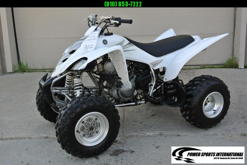 2006 Yamaha Raptor 350 Sport ATV Team Yamaha White #1050