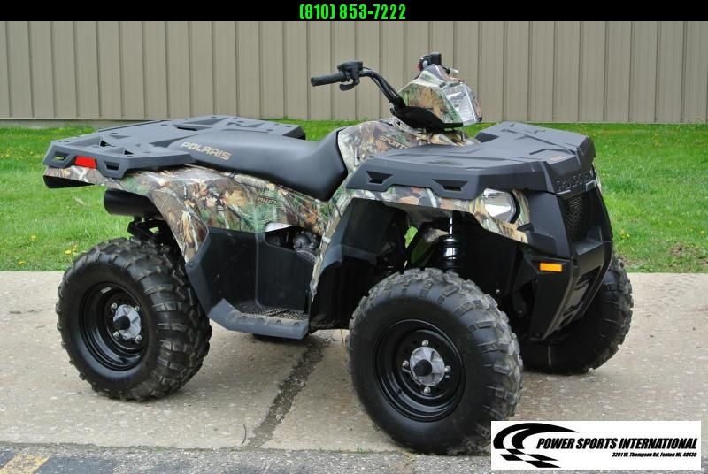2013 POLARIS SPORTSMAN 500 HO 4X4 PURSUIT CAMO ATV #4421