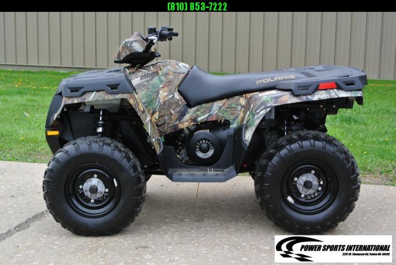 2013 POLARIS SPORTSMAN 500 HO 4X4 PURSUIT CAMO ATV #4421