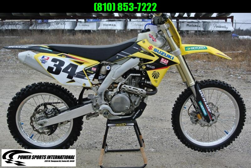 2015 Suzuki RMZ 450 4-Stroke MX Motocross Motorcycle #1540