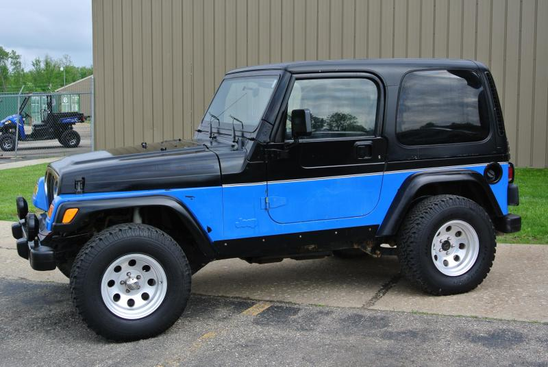 2000 Jeep Rubicon 2DR SUV 4WD Truck 6 Cylinder #7789