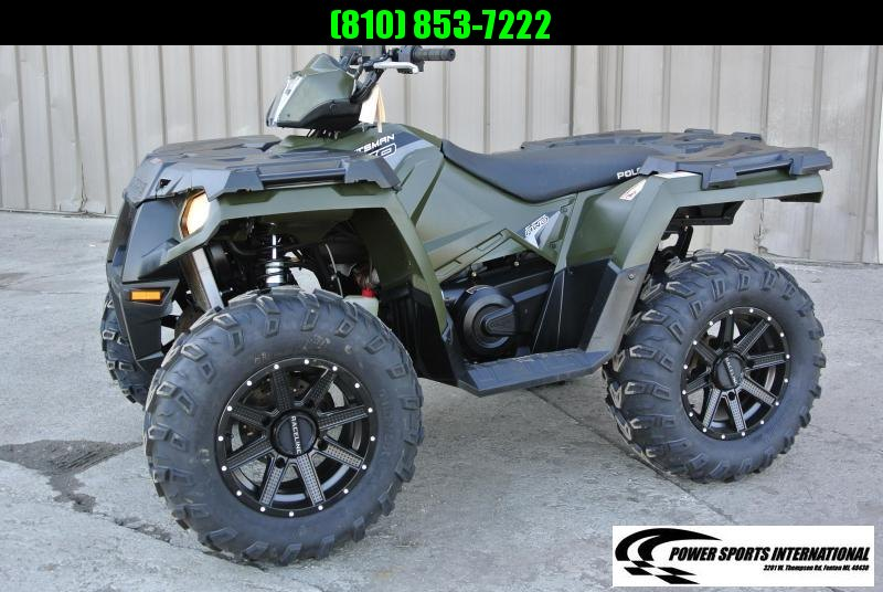 2017 POLARIS SPORTSMAN 570 HUNTER GREEN 4X4 #3389