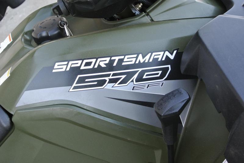 2017 POLARIS SPORTSMAN 570 HUNTER GREEN 4X4 #3389