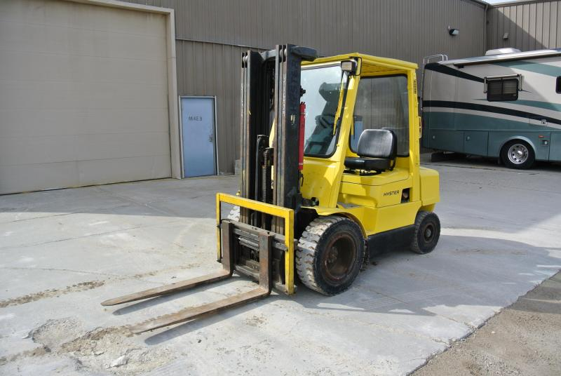 Hyster H50XM 5000# Pneumatic Tire Forklift Gas