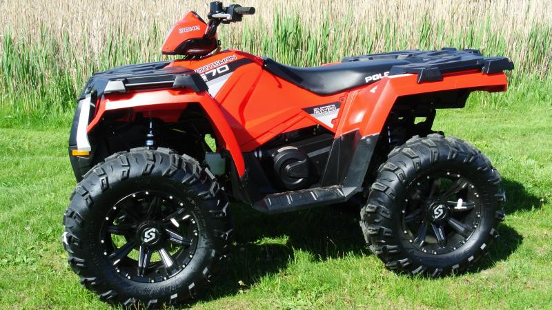 2015 POLARIS SPORTSMAN 570 W/ New Wheels and Tires #5366