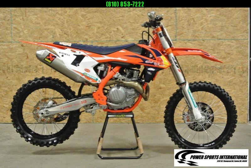 2017 KTM 450 SX F FE 4 Stroke Dirt bike Motorcycle Off Road #6440