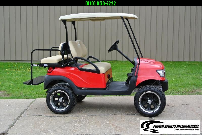 2009 CLUB CAR PRECEDENT 48V w/ ALPHA body and thousands in extras. #0958