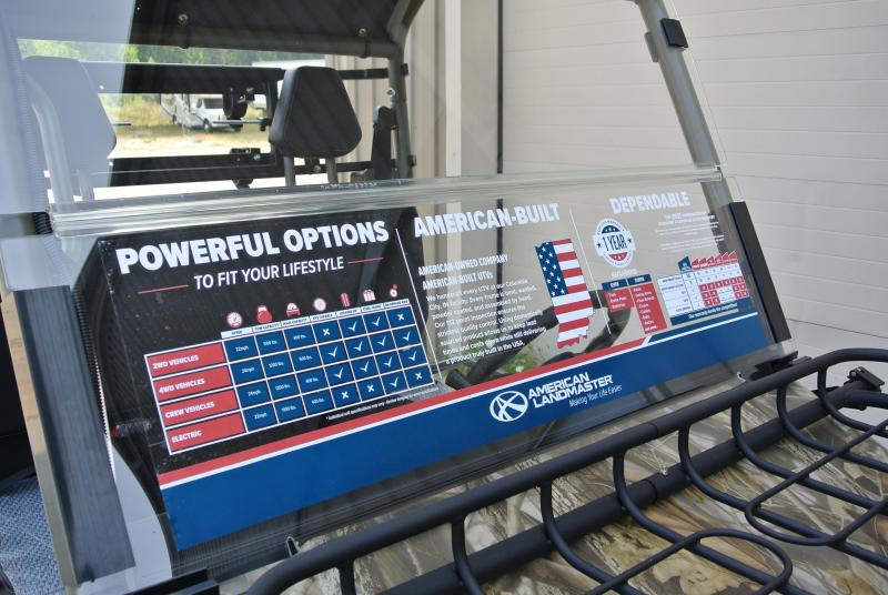 2018 American Land Master Landstar 677 Special Edition EPS Utility Side-by-Side #0243