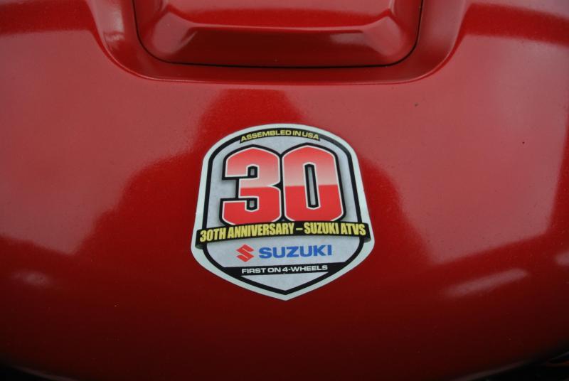 2013 SUZUKI LT-A750XPZL KINGQUAD ANNIVERSARY EDITION #3113