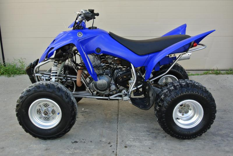 2005 Yamaha Raptor 350 Sport ATV Team Yamaha Blue #7501