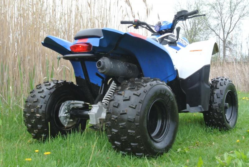 2015 POLARIS PHOENIX 200 BLUE ATV #7322