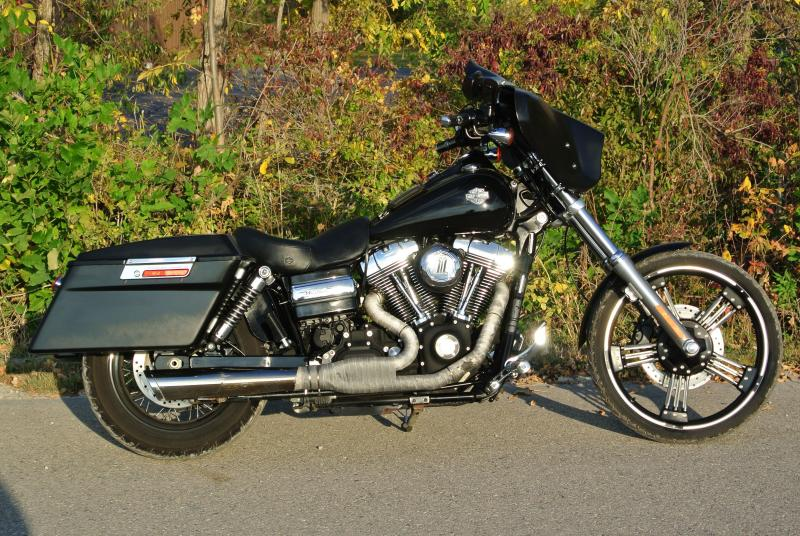 2010 Harley Davidson FXDWG DYNA WG Motorcycle #0387