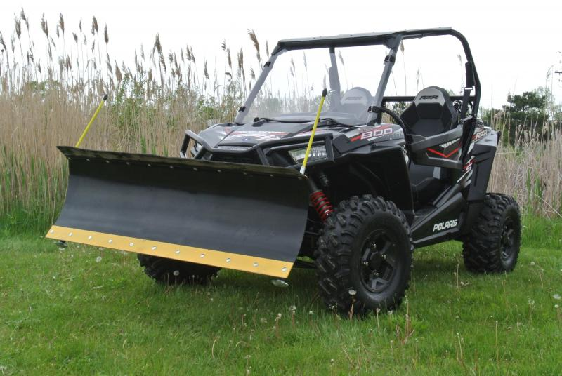 2017 Polaris RZR S 900 Sport Side-by-Side w/ EPS and Full Snowplow #1368