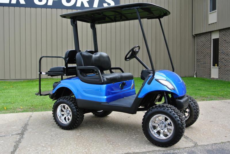 2011 CUSTOM Yamaha Drive GAS POWERED Golf Cart #4764