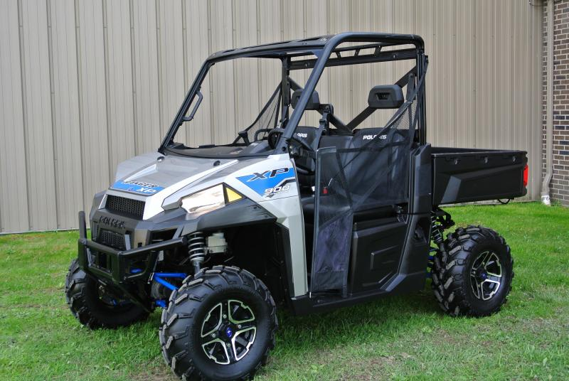 2017 POLARIS RANGER XP 900 EPS METALLIC SILVER FULL SIZE #0700