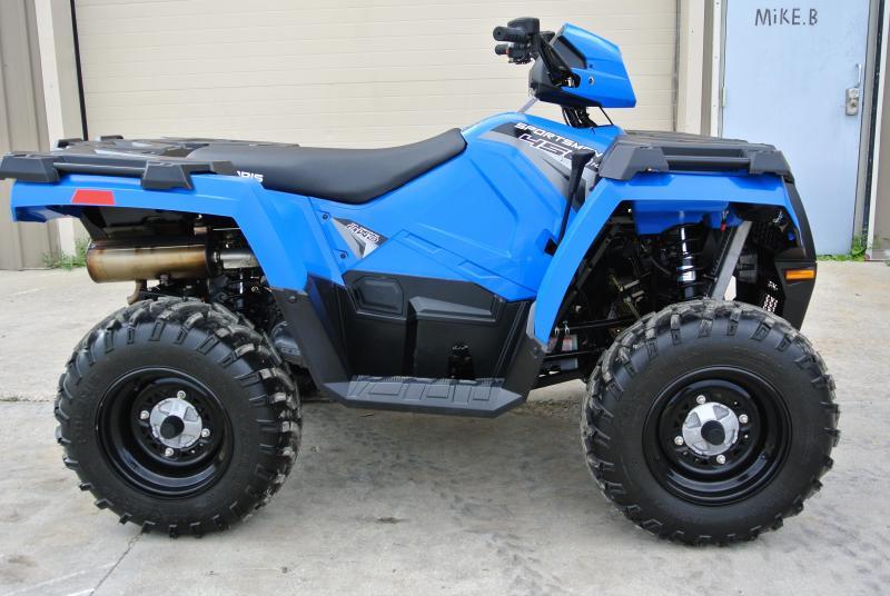 2018 POLARIS SPORTSMAN 450 H.O. UTILITY ATV Velocity Blue #0410