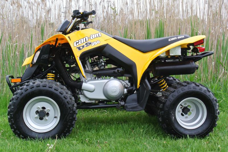 2008 Can Am DS250 Automatic Sport ATV #