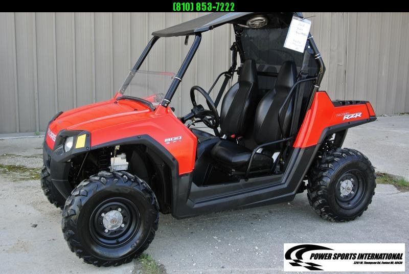 2008 Polaris RZR 800 EFI EPS Sport Side by Side with Extras #5933