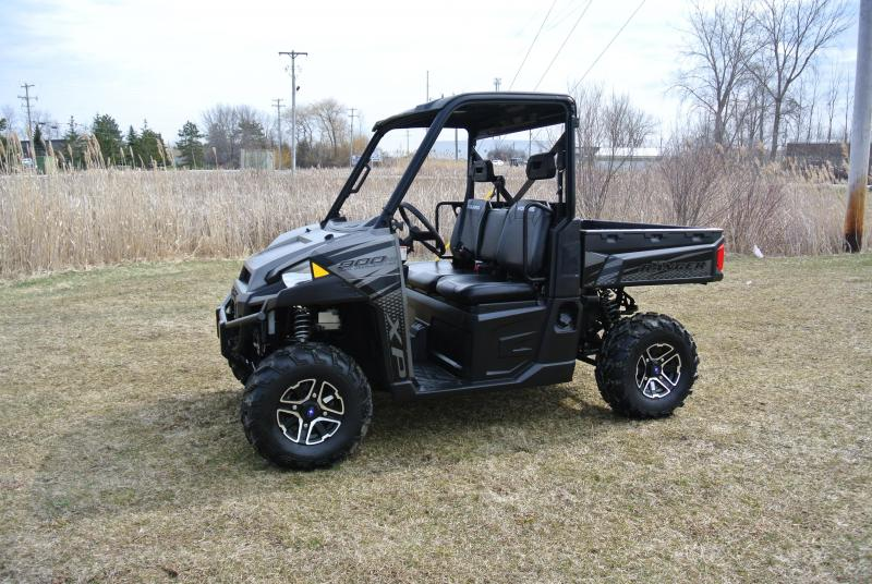 2018 POLARIS RANGER XP 900 (ELECTRIC POWER STEERING) BLACK #5674
