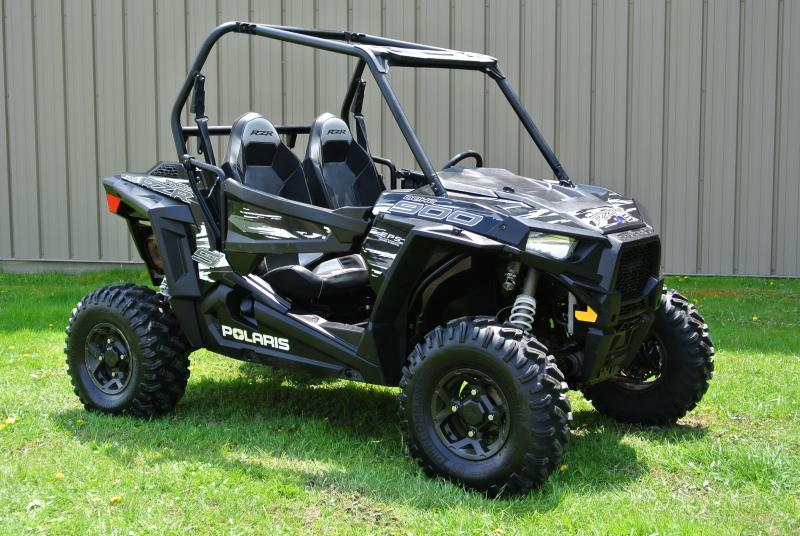 2018 POLARIS RZR S 900 EPS Black Sport Side-by-Side #7435