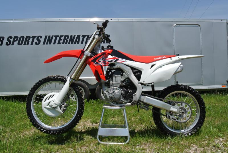 2016 Honda CRF450R Fuel Injected 4-Stroke Motocross Bike #1751