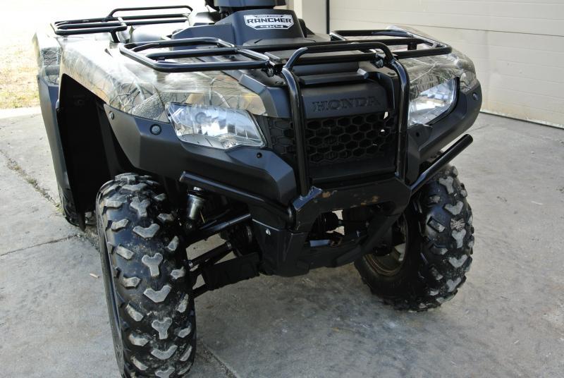 2014 HONDA TRX420FPM2E RANCHER EPS 4X4 ATV CAMO #0255