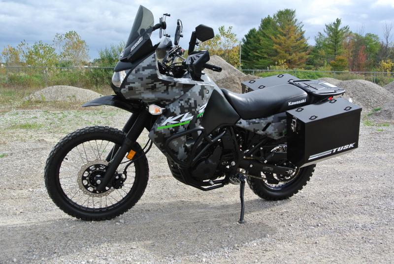 2016 KAWASAKI KL650EGFA KLR 650 DIGITAL CAMO EDITION MOTORCYCLE #7993