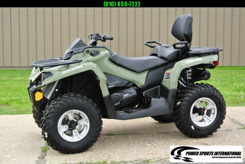 2016 Can Am Outlander L MAX 450 ATV CAN-AM  #1487