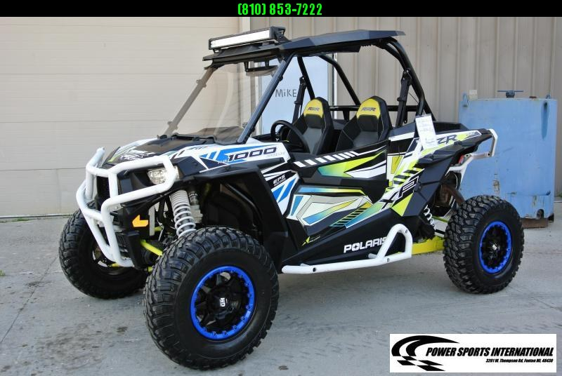 2017 POLARIS RZR XP HO 1000 (ELECTRIC POWER STEERING) WHITE #3957