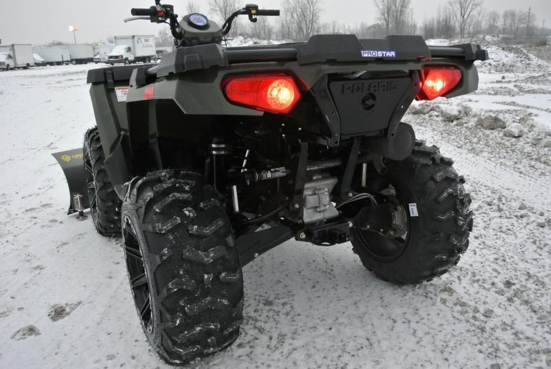 2015 POLARIS SPORTSMAN 570 EFI 4X4 Utility ATV Hunter Green #1066