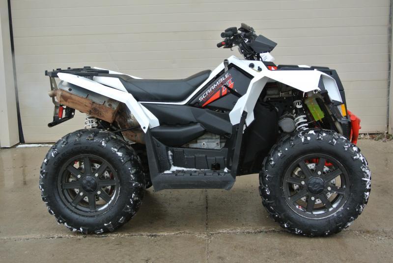 2014 POLARIS SCRAMBLER 1000 XP EPS Sport ATV #3448