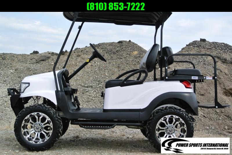 2013 Club Car gas w/ ALPHA body and thousands in extras. #4984