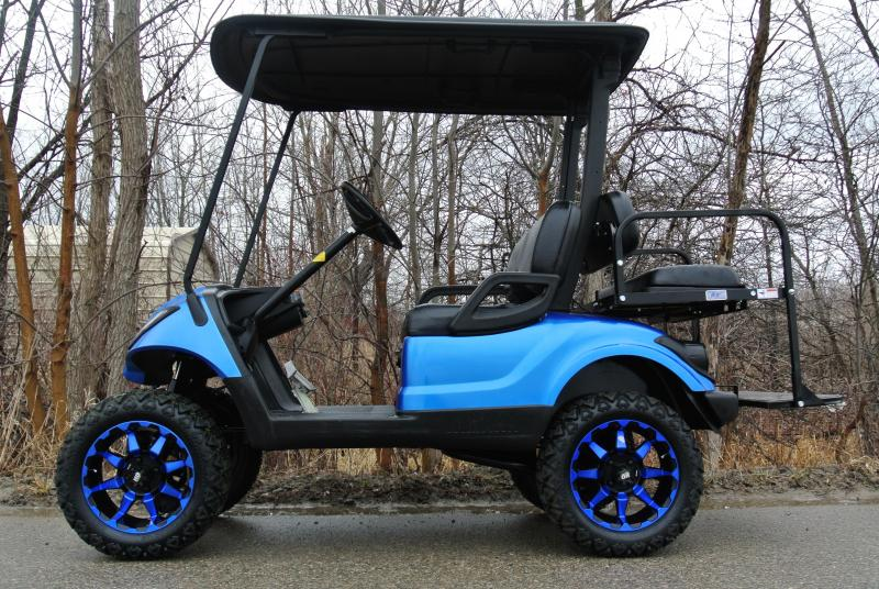 2014 Custom Yamaha Drive 48v Electric Golf Cart #8970