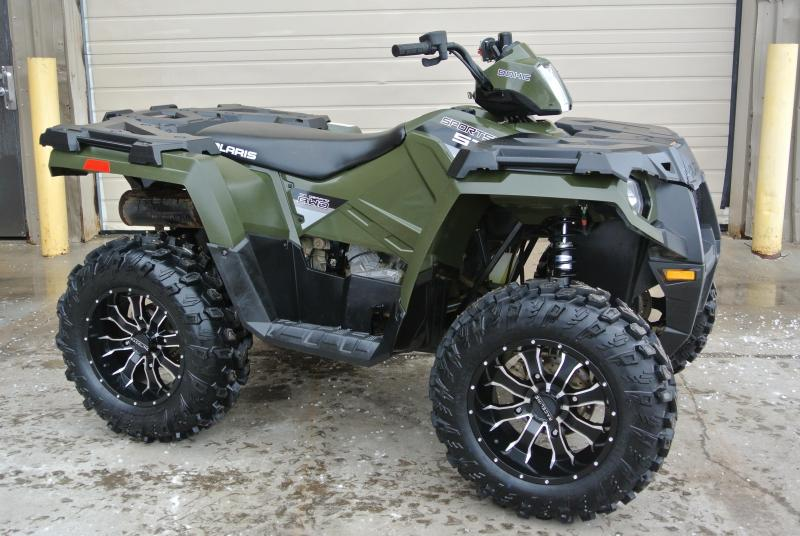 2015 POLARIS SPORTSMAN 570 HUNTER GREEN 4X4 #5561